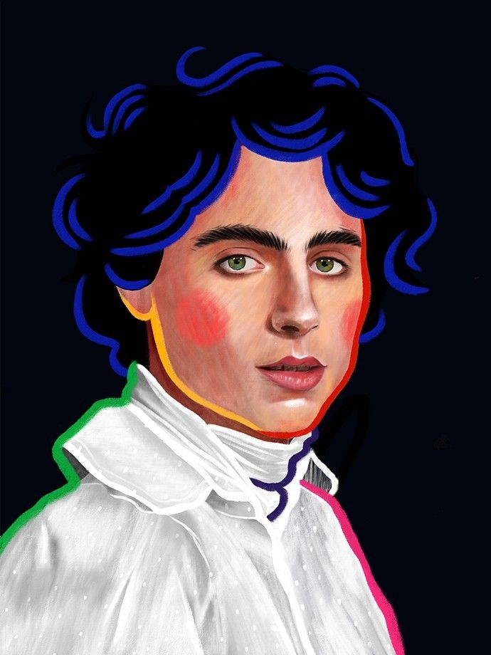 illustration-anais-ordas-actor-chalamet.jpg - Anaïs ORDAS | Virginie