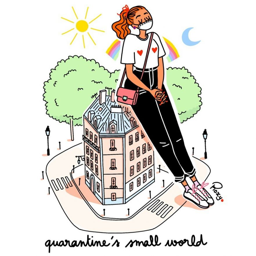 illustration-roxylapassade-quarantineworld.jpg - Roxy LAPASSADE | Virginie