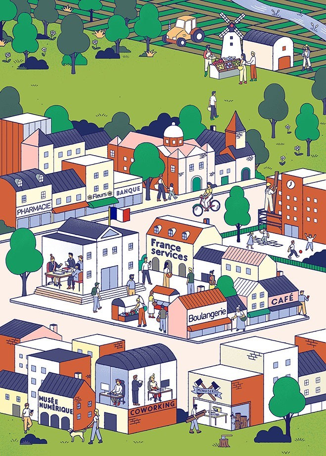 illustration-mikael-moune-petit-village1.jpg - Mikaël MOUNE | Virginie